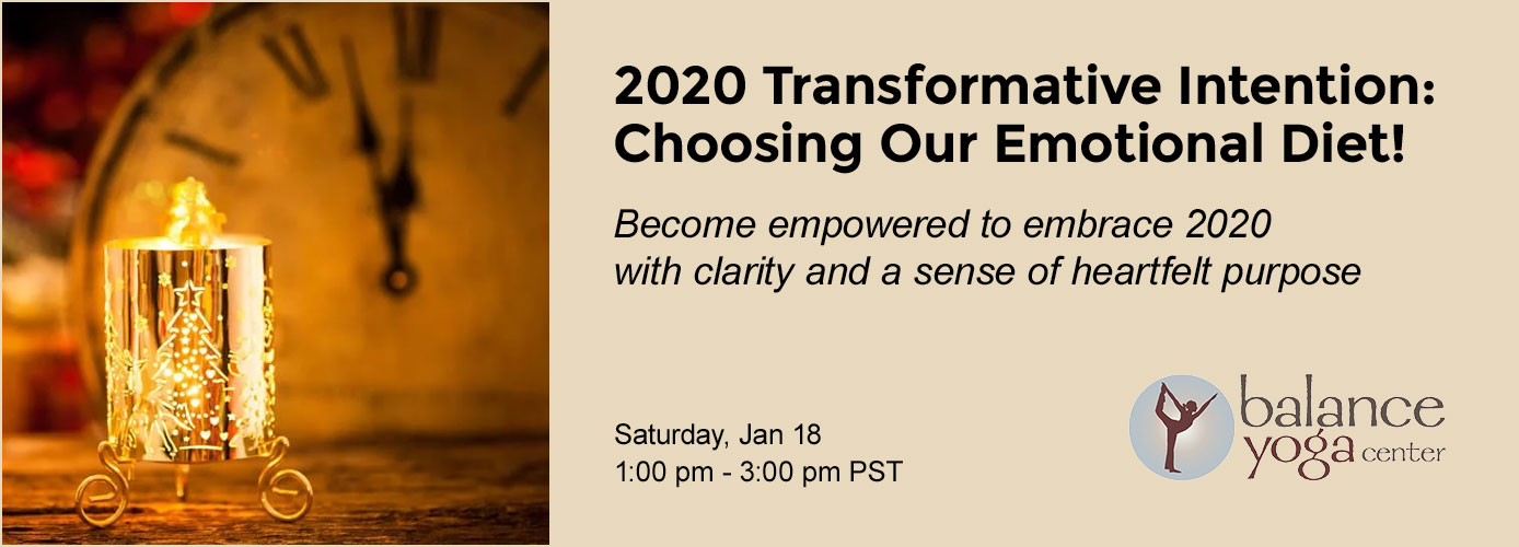 Event: 2020 Transformative Intention