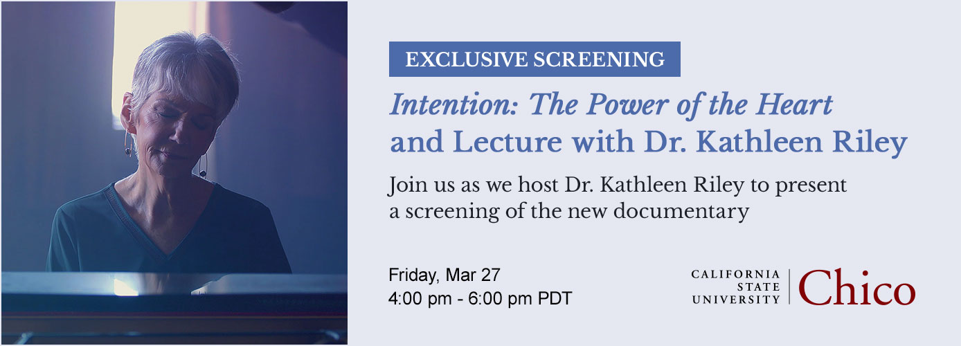 Event: Exclusive Screening and Lecture with Dr. Kathleen Riley